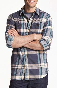 a9458b539d Tommy Bahama  Summer Night  Regular Fit Flannel Sport Shirt available at   Nordstrom Richie