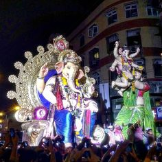 New pin for Ganpati Festival 2015 is created by by rajivmax with #Mumbai…