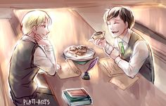 since i keep calling Scorpius and Albus my precious cinnamon rolls, I figured I'd draw them eating. Scorbus leisurely afternoon homework sessions with snacks give me life :'D +. Harry Potter Fan Art, Harry Potter Beasts, Harry Potter Cursed Child, Cute Harry Potter, Harry Potter Anime, Harry Potter Fandom, Harry Potter Memes, Albus Severus Potter, Scorpius And Albus