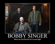 You know Supernatural changed your life when. you see flannel and all you can think about is Sam, Dean and Bobby. Bobby Singer Quotes, Familia Winchester, Emmanuelle Vaugier, Jim Beaver, Supernatural Tv Show, Supernatural Pictures, Winchester Brothers, Winchester Boys, Demotivational Posters