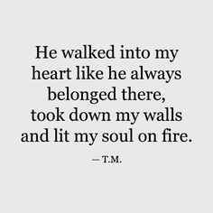 50 Boyfriend Quotes to Help You Spice Up Your Love - TheLoveBits,He walked into my heart like. - 50 Boyfriend Quotes to Help You Spice Up Your Love – TheLoveBits, # - Deep Relationship Quotes, Relationships Love, Boyfriend Quotes Relationships, Inspirational Quotes Relationships, Funny Quotes About Relationships, Relationship Videos, Relationship Questions, Relationship Problems, Healthy Relationships