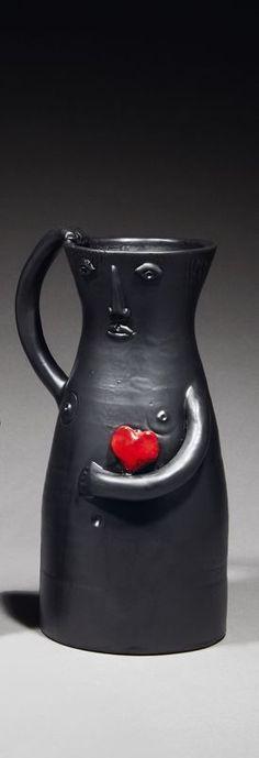 Lot : Robert (1930-2008) et Jean CLOUTIER (1930-) - Le cœur sur la main -..   Dans la vente Art Nouveau- Art Déco, Design - Session II à Millon et Associés Paris
