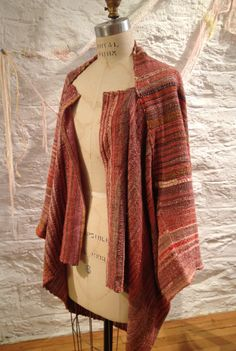 Sustainable Handwoven Jacket by Nui