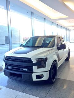 650-hp Roush F-150 is on display at WHQ