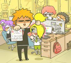 Sasunaru, Deidara Akatsuki, Naruto Shippuden, Otaku Anime, Anime Naruto, Sasuke, Roasting Someone, Konan, My Hero Academia Tsuyu