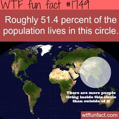 facts about world population - WTF fun facts