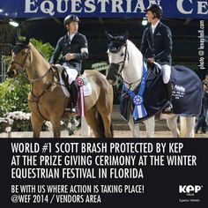 Scott Brash protected by #KEPItalia