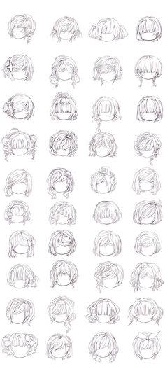 各种发型_来自KOALA睡不着的图片分享