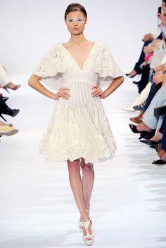 Elie Saab Fall 2009 Couture Fashion Show - Magdalena Frackowiak