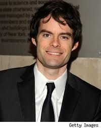 Bill Hader... SNL and Cloudy with a Chance of Meatballs.. has a severe nut allergy.