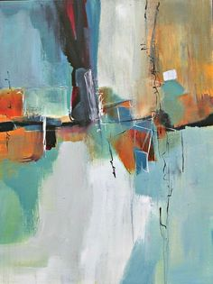 abstract art, paintings of Jane Robinson