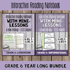 Mentor texts and interactive notebooks help one teacher teach the Common Core Standards in her classroom.
