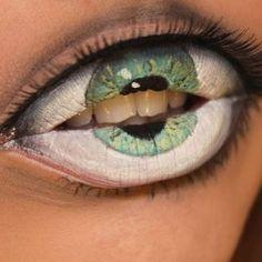 Freaky lip art alert!!  Artist unknown. #lipart #freaky #makeup #makeupartist #lips