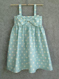 Luz a azul de lunares bebé/niño pequeño por dreamcatcherbaby