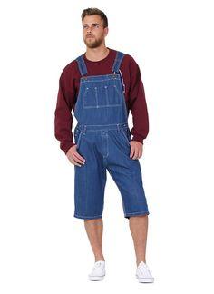 826f1d02cb Mens Stonewash Denim Overall Shorts Denim Walkshort Overall Shorts Shortalls