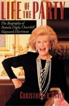 Life of the Party - The Biography of Pamela Digby Churchill Hayward Harriman by Christopher Ogden  - mylusciouslife.com - Luscious library inspiration
