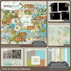 Fresh As A Daisy Collection :: Gotta Grab It :: Gotta Pixel Digital Scrapbook Store by Seatrout Scraps