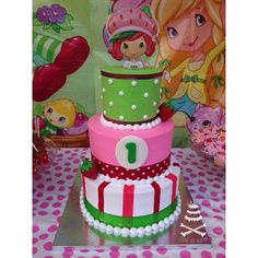 Birthday Cake Girls, Birthday Cakes, Strawberry Shortcake Party, Cool Cake Designs, Girl Cakes, Amazing Cakes, Desserts, Tailgate Desserts, Deserts