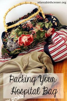Packing Your Hospital Bag | Atlanta Birth Center | A helpful list for every pregnant mom planning a hospital birth!