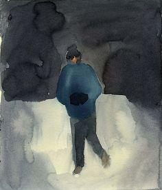 Night Portrait Series by Leanne Shapton