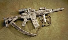 HK416 used by Naval Special Warfare Development Group.