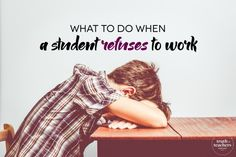 There's at least one in every classroom--yep, I'm talking about the kid who just sits there, and doesn't work. The one who needs constant cajoling to put pencil to paper and get started. In some cases, there's an attitude problem and the student is disengaged from school in general, and in other cases, the student…