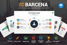 Barcena - Keynote Template by SlidePro on @creativemarket
