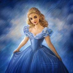 Cinderella 2015 by daekazu.deviantart.com on @DeviantArt