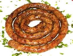 Bulgarian Karnache Sausage from: My Introduction to Bulgarian Food and Drink - Vagobond Bulgarian Recipes, Bulgarian Food, Real Food Recipes, Great Recipes, Poultry, Sausage, Brunch, Food And Drink, Herbs