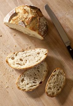 The New Artisan Bread in Five Minutes a Day Master Recipe! (Back to Basics updated) Real Food Recipes, Cooking Recipes, Yummy Food, Bakery Recipes, Food Tips, Food Ideas, Naan, Slow Cooker Recipes, Crockpot Recipes