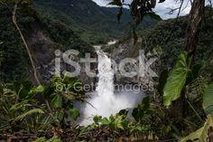 The waterfall San Rafael in Ecuador royalty-free stock photo Ecuador, Stock Foto, Good Times, Planets, Things To Do, Waterfall, Royalty Free Stock Photos, Journey, San