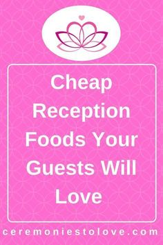 Wedding reception foods are one of the largest items in your wedding budget. With careful wedding planning and possibly some DIY, you can reduce your costs and have foods your wedding guests will love. Read for ideas. Cheap Wedding Food, Cheap Wedding Reception, Plan Your Wedding, Budget Wedding, Wedding Tips, Wedding Events, Wedding Day, Weddings, Wedding Punch