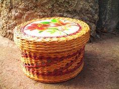 Филейно-ситцевое плетение из газет - Узоры.Мастер-классы - Плетение из газет - Рукоделие