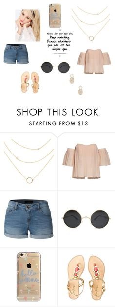 """Hello Summer"" by coolpineapple-765 ❤ liked on Polyvore featuring Silvana, LE3NO, Agent 18, Lilly Pulitzer, Sole Society, contestentry and jenchaexmejuri"