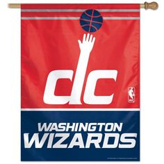 be6d9ff46496 Washington Wizards Vertical Flag 27