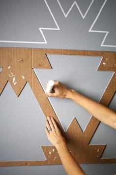 acaixadaestefi | Papel de parede feito à mão