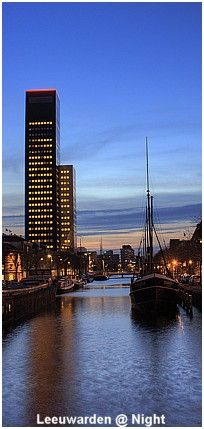 Skyline Leeuwarden, HDR fotografie,