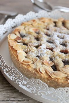 Dessert Cake Recipes, Sweets Cake, Sweets Recipes, Italian Desserts, Italian Recipes, Torte Cake, Sweet Pie, Something Sweet, Finger Foods