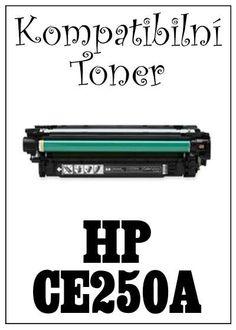 Kompatibilní toner HP 504A / HP CE250A za bezva cenu 1765 Kč