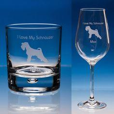 PAW ETCHED WHISKEY GLASS CHRISTMAS GIFT DOG DOBERMAN BEAGLE SPANIEL TERRIER PUG