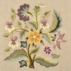 Embroidery Designs Running Stitch off Crewel Embroidery Christmas Stocking Patterns amid Embroidery Tattoo Ideas Bordado Jacobean, Crewel Embroidery Kits, Types Of Embroidery, Learn Embroidery, Embroidery Needles, Ribbon Embroidery, Machine Embroidery, Embroidery Books, Embroidery Alphabet