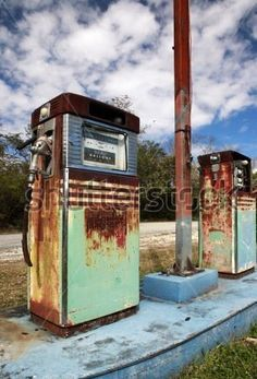 53 Best Old and Unique Gas Pumps images in 2014   Old gas