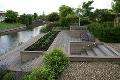 moderne tuin aan het water - Google zoeken