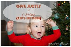 Lilly Road Trip: Give Justly {Kids Edition}