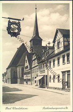 Bad Windsheim -Rithenburgerstrasse