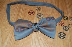 Cogs bowtie by Houseofbecca on Etsy Cogs, Handmade Items, Tie, Becca, Prints, Accessories, Vintage, Cravat Tie, Ties