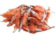Rybičky obalené kuřecím masem - 250 g