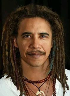 New hair do for Obama? Makes him look younger!