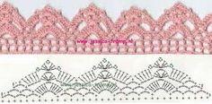 free crochet border patterns - Google Search