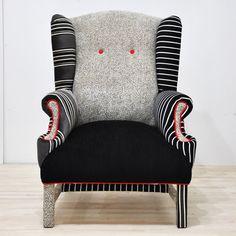 The Black & White Armchair